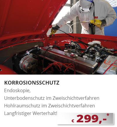 Unterbodenschutz Hohlraumversiegelung München