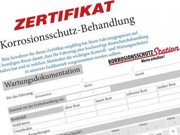 Autorostschutz Nachsorgeuntersuchung Bayern