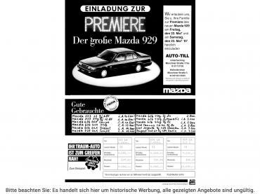 Historische Auto-Werbung Auto Till