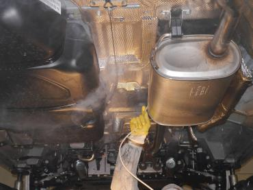 Hohlraumversiegelung Bayern VW T5 Verarbeitung Fluid Film