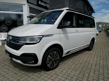 VW T6.1 California Beach Tour Edition Candy Weiss
